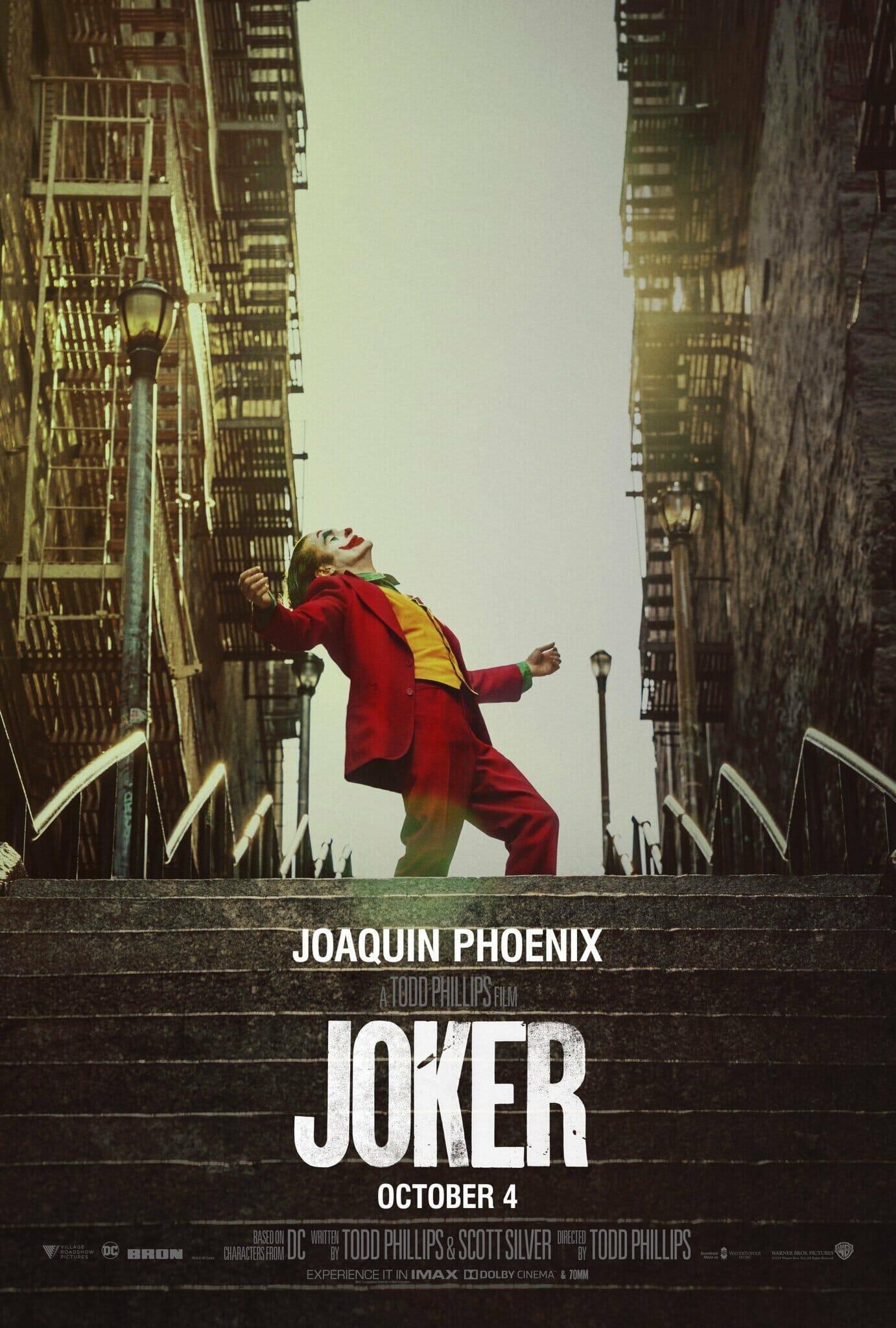 Cartel oficial de la película 'Joker'
