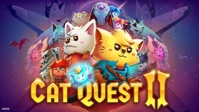 Cartel oficial del videojuego 'Cat quest II'