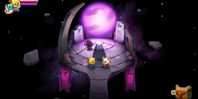 Fotograma del videojuego 'Cat quest II'