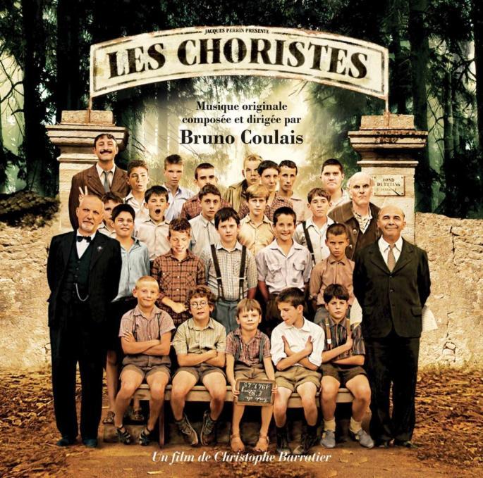 Cartel oficial de la película 'Los chicos del coro'