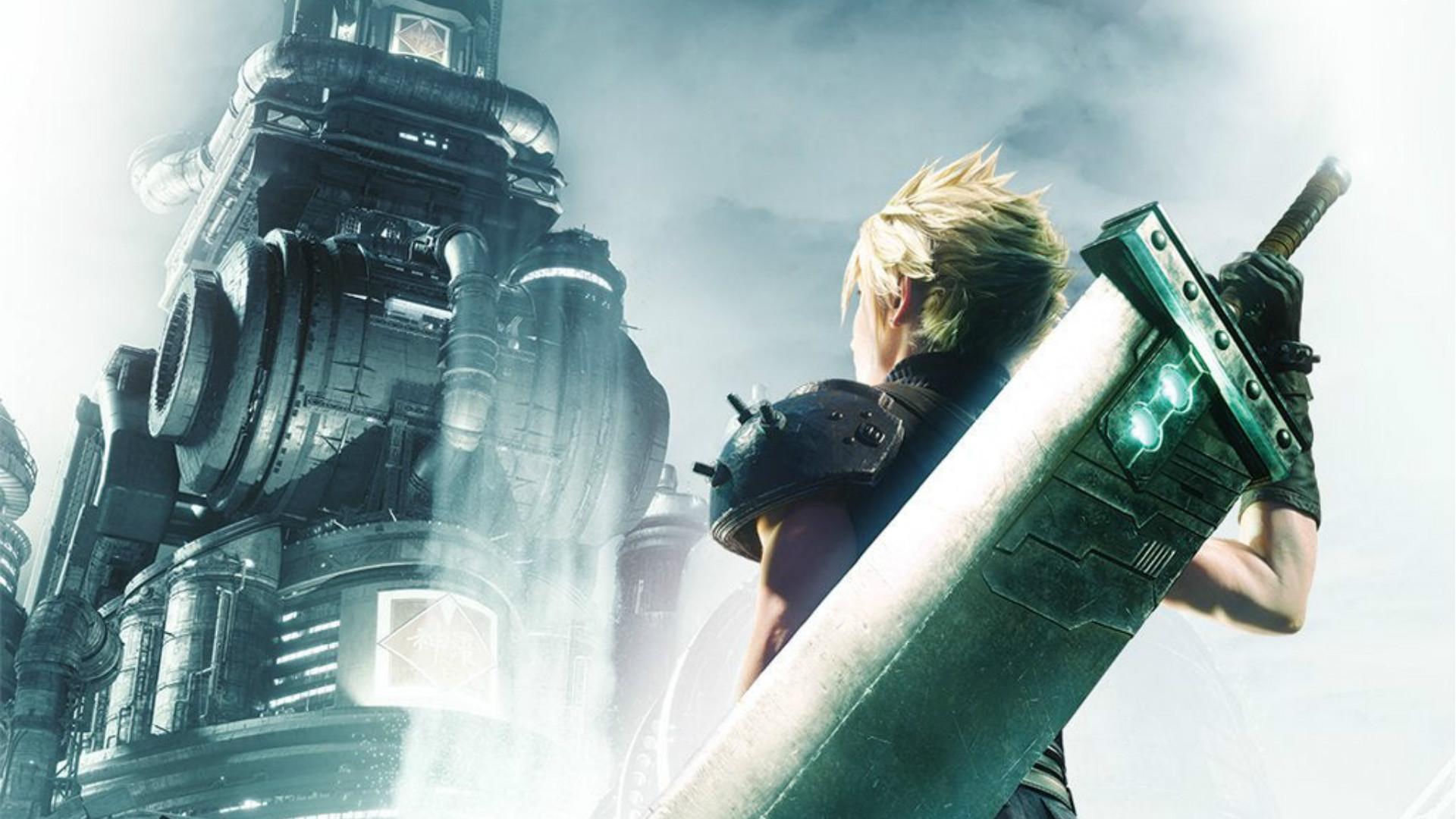Cartel promocional del videojuego 'Final Fantasy VII Remake'