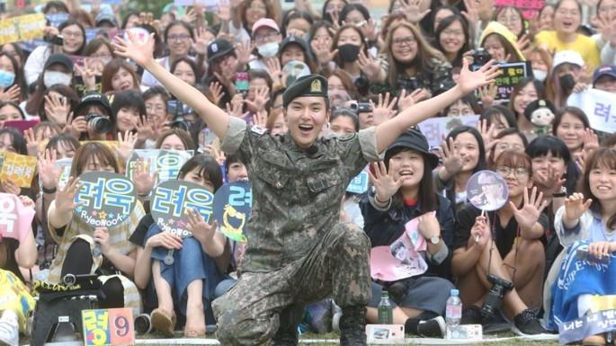 Ryeowook de Super Junior regresa de la milicia surcoreana.