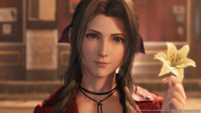 Aeris es una de las protagonistas femeninas de 'Final Fantasy VII Remake'